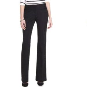 NWT Express Editor Pant Black Stretch Denim Flare